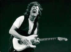 Gary Moore appears in the Globe