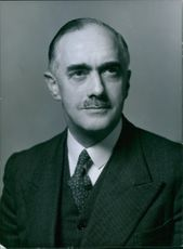 Portrait of Lewis Charles Nickolls,. Director Metropolitan Police Labrotories.