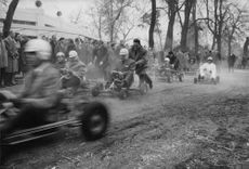 Cart racing in france. 1960
