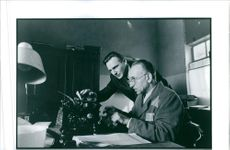 """Liam Neeson and Ben Kingsley in a scene from a 1993 American movie, """"Schindler's List."""""""