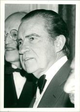 Richard Nixon 37th U.S. President a recent portrait.