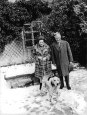 Duke of Windsor with his wife.