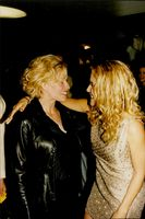 Elizabeth Shue and Kelly Preston at the premiere of Griffin Dunnes 'Addicted to Love'.