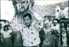 Walter Matthau in the film Out to Sea, 1997.