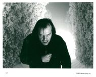 """Actor Jack Nicholson in the movie """"The Shining"""""""