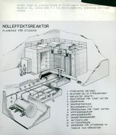 A sketch of the new reactor at Studsvik