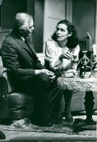 """Birger Malmsten and Marika Lindström in Allan Edwalls """"Anyone? Yes, Someone"""" on the Drama"""