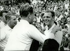 The winners of the Davis Cup 1964.