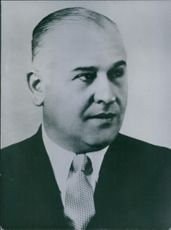 A photo of Peron's Cabinet: Oscar Lorenzo Nicolini.