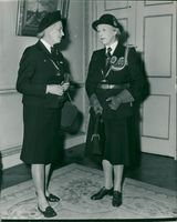 Princess Royal with Miss Gibbs