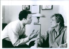 "Albert Brooks and Nick Nolte from the film ""I'll Do Anything"", a 1994 film."