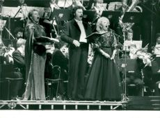 German opera singer Doris Soffel sings with Bernd Weikl and Siv Wennberg