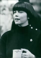 Mireille Mathieu  is a French singer.