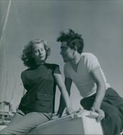 A couple dating in Corsica.