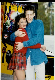 The actors Gail Easdale and Paul Keating