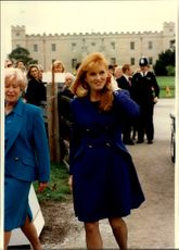 Sarah Ferguson is about to check out the family's new house.