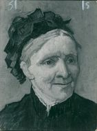 Vincent Willem van Gogh: a portrait of his mother.