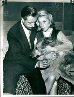 Harvey Holford with his wife Christine.