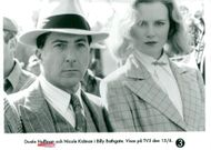 "Dustin Hoffman and Nicole Kidman play the lead in Robert Benton's gangster movie ""Billy Bathgate""."