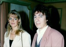 Bill Wyman with his girlfriend Charlotte.