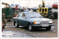 Motor car marcedes:The one that got away.