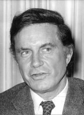 Portrait of Cliff Robertson.