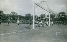 Soccer competition. 1939.