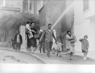 Families fleeing during Algerian War.  - Dec 1960
