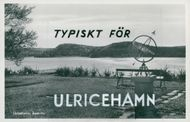 Postcard of the Åsakullarna in Ulricehamn.