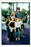 David Hasselhoff with family at the premiere of