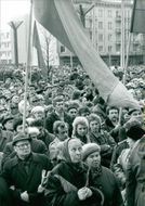 Russians demonstrate against liberation