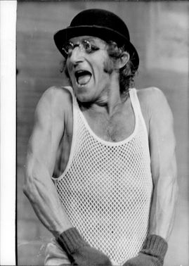 Portrait image of actor Marty Feldman taken in an unknown context.
