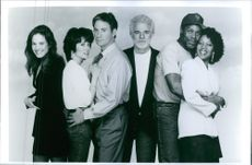 """A photo of a cast in a film """"Grand Canyon"""" - 1991"""