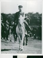 Emperor Hirohito as Colonel Commander of the Japanese Armed Forces