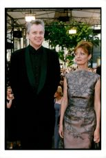 Tim Robbins, actor with his wife Susan Sarandon, actress in Cannes