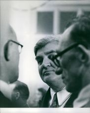 For a moment Aneurin Bevan relaxes, switches his attention, and appears as a mellow, comparatively harmless elder statesman.