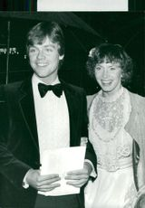 """Mark Hamill arrives at the premiere of """"Space Emperor Beats"""" with his wife Marilou"""