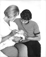 Michael Landon with Wife Lynn and Daughter Shawna Leigh Landon.