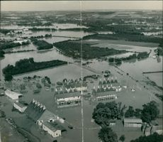 Floods 1966-1989:The air the weald of kent.