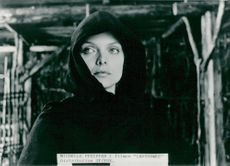 "Michelle Pfeiffer in the movie ""Ladyhawke"""