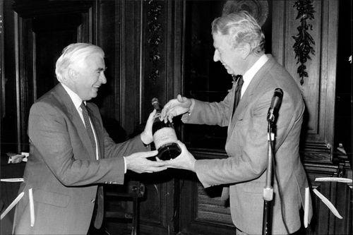 Peter Walker:with William Iceton
