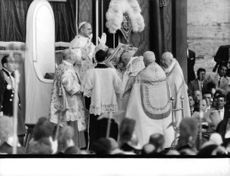 Pope Paul VI performing a ritual.