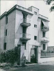 A photo of a building. 1972.