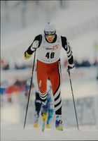 Ski World Cup in Vuokatti. Ivan Batory from Slovakia