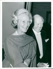 Inga-Stina Robson, Baroness Robson of Kiddington with his husband.