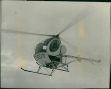 Three passenger helicopter