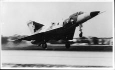 Israel fighter jet takes off
