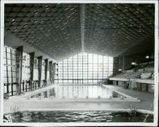 Metropolitan Swimming Pool where water poles in the Olympic Games are to be played