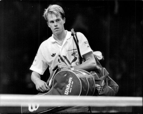 Portrait image of Stefan Edberg taken in an unknown competition context.