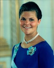Portrait of Crown Princess Victoria